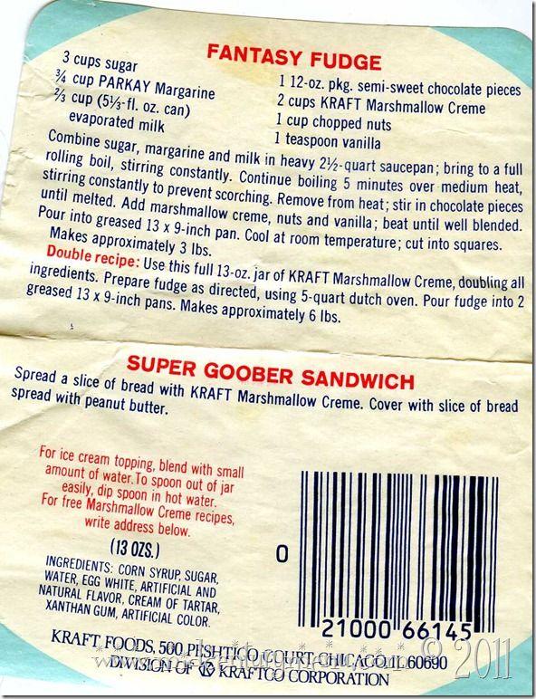 Kraft fudge recipes easy