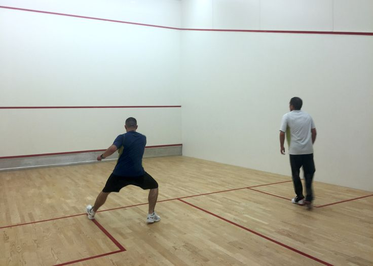 Increase strength and fitness by playing squash at #Vitality.