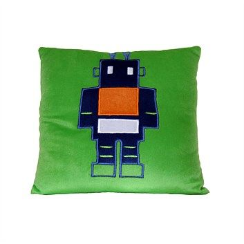 Kids Cushions & Throws - Briscoes - Zing Robot Cushion