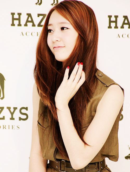 Krystal Jung | Hair Inspiration - Beautiful Women | Pinterest F(x) Krystal Heirs