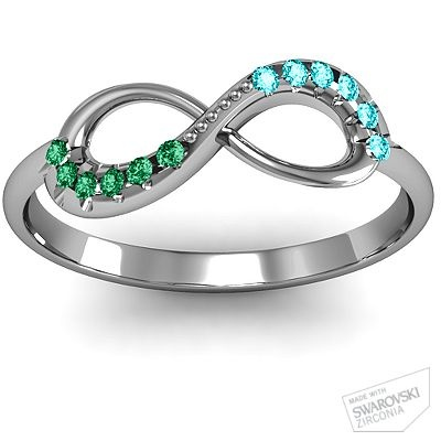 Must have (once I'm sure what baby number 2's birthstone is) New twist on mother's ring. This is what I think it'll end up being though!