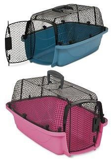 The Look N See Airline Approved Pet Carrier combines comfort, with light weight material and great ventilation.
