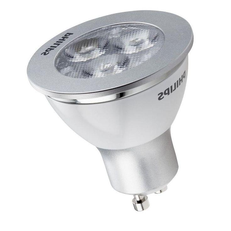 Philips 35W Equivalent Bright White (3000K) MR16 (GU10 Base) LED Spot Light Bulb (E*)