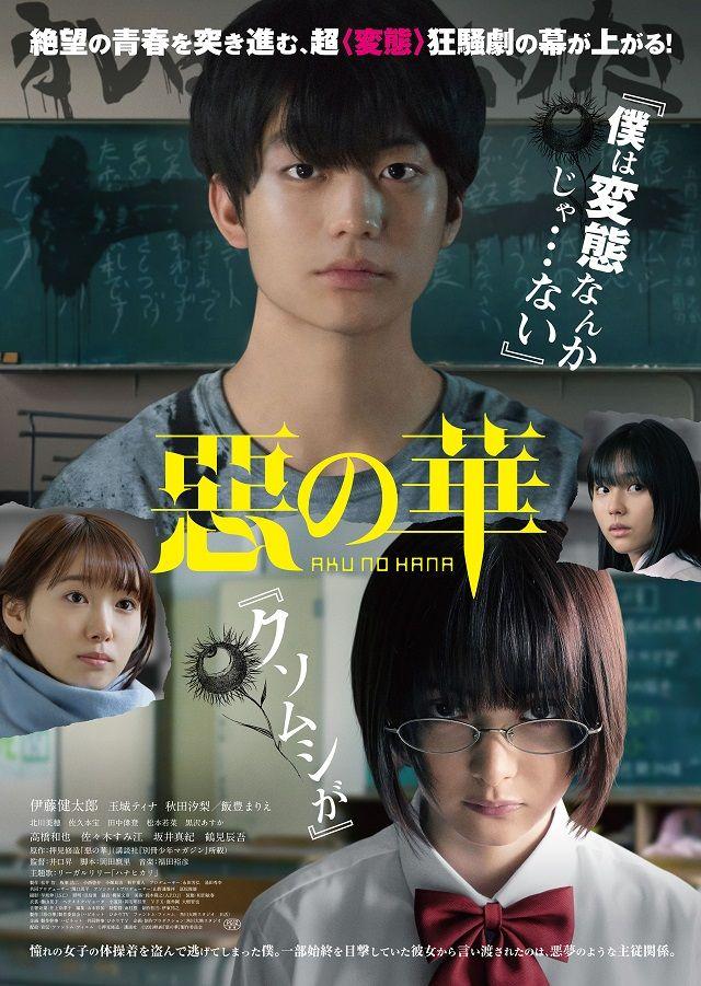 Aku no Hana Filme LiveAction revela Trailer Filme