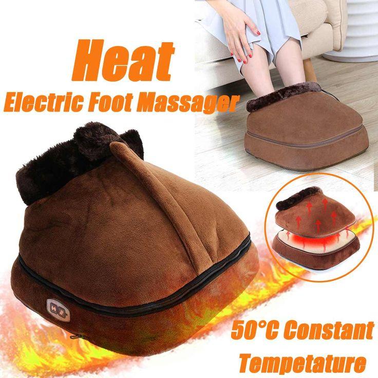 Heated Electric Foot Massager Body Back Massage Feet