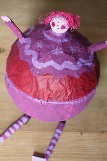 Violet Beauregarde by Hazel Terry @Katie Schmeltzer Redman oh fourth grade memories!!