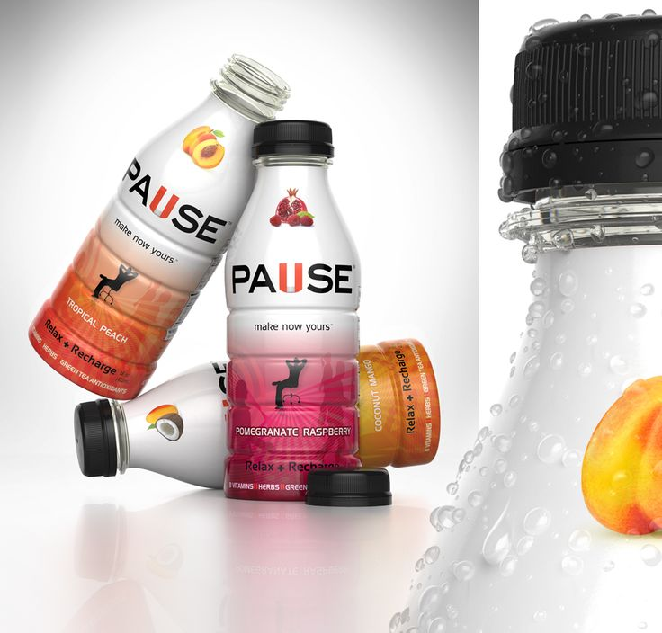 3D, Beverages, Drinks, Drops, Glass, Juice, Liquid, Packaging, Pause, Plastic Bottles, Product, Shrink Wrap, Water