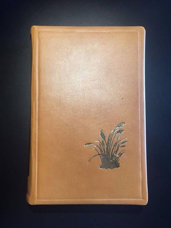 Chesapeake James A. Michener 1978 1st Ed. Leather