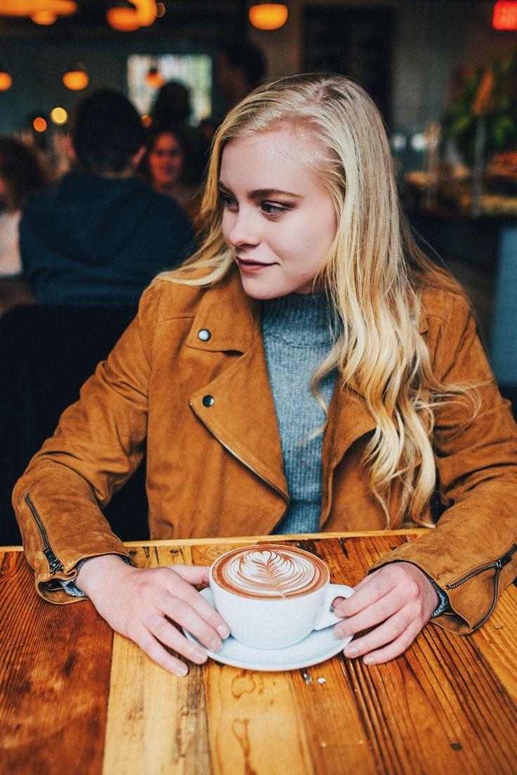 Coffee shop photoshoot...