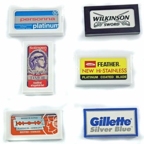 Executive Shaving Company Safety Razor Blade Variety Pack