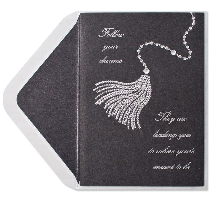 12 best papyrus greeting cards images on pinterest greeting cards papyrus graduation greeting card silver gem tassel on black front follow your dreams they m4hsunfo