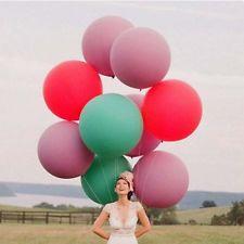 60CM groß XXL Riesen Luftballon - Hochzeit Geburtstag Party - geeign. f. Helium