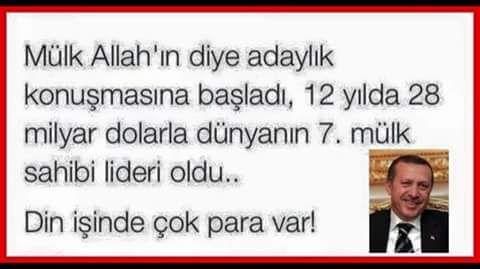 Mülk Allah'ındır diye siyasete başladı 13 yılda bütün mülkleri Türgev'e topladı.!