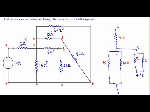 current and voltage in complex series parallel circuit 2 (wcurrent and voltage in complex series parallel circuit 2 (w subtitles) series