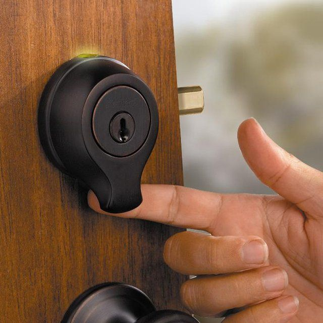 Finger Scanning Deadbolt - Take My Paycheck | The coolest gadgets, electronics, geeky stuff, and more!