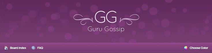 "Tuesday Thoughts: Guru Gossip, Confessions, and Other ""Trash"" Sites"