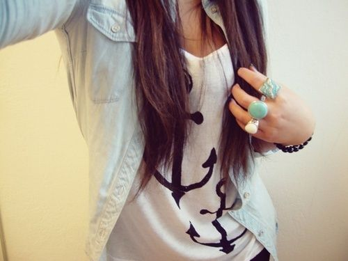 everything.: Anchors Anchor, Fashion, Style, Anchor Shirts, Dream Closet, Outfit, Anchors 3