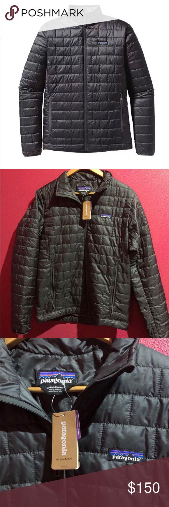 Patagonia Men's Nano Puffer Jacket Warm, windproof, water