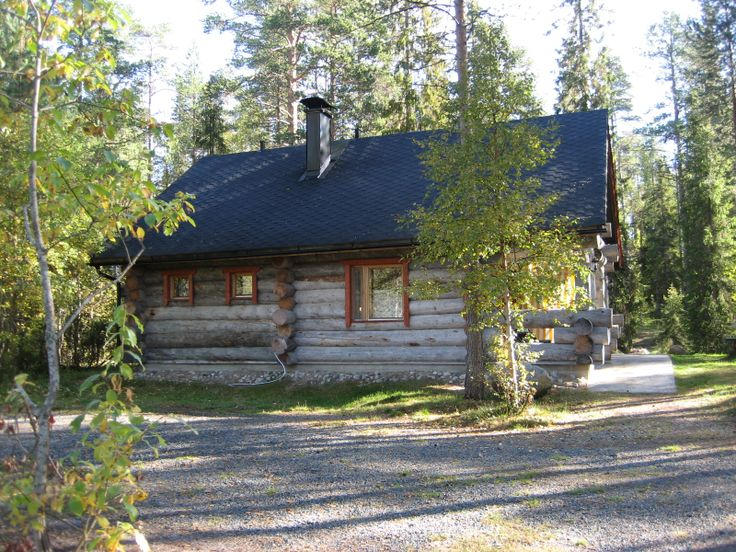 hirvipirtit lapland cabins Finland, Taivalkoski, cabin nr 2, side view