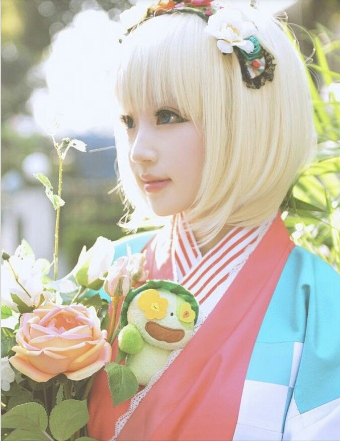Shiemi - blue exorcist (ao no exorcist) - Cosplay! Looks amazing!!!