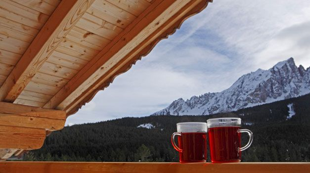 Original Südtiroler Glühwein zum Aufwärmen, Roter Hahn / Gallo Rosso