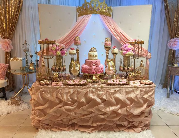 """Princess Baby Shower / Baby Shower """"Little Princess on her Way """" 