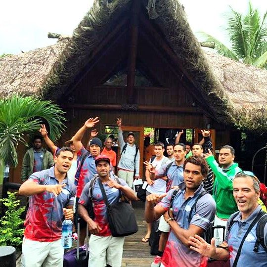 We love hosting #sportsteams and #sportstourism at @uprisingfiji  here are the #newcaledonian #sevens team last month before heading off to #PNG for the #2015SPG @worldrugby #roadtorio #rugby7s #rugbylife #eatstaytrainrepeat ➡️ #followus for more sporting and training action from all our international team guests!