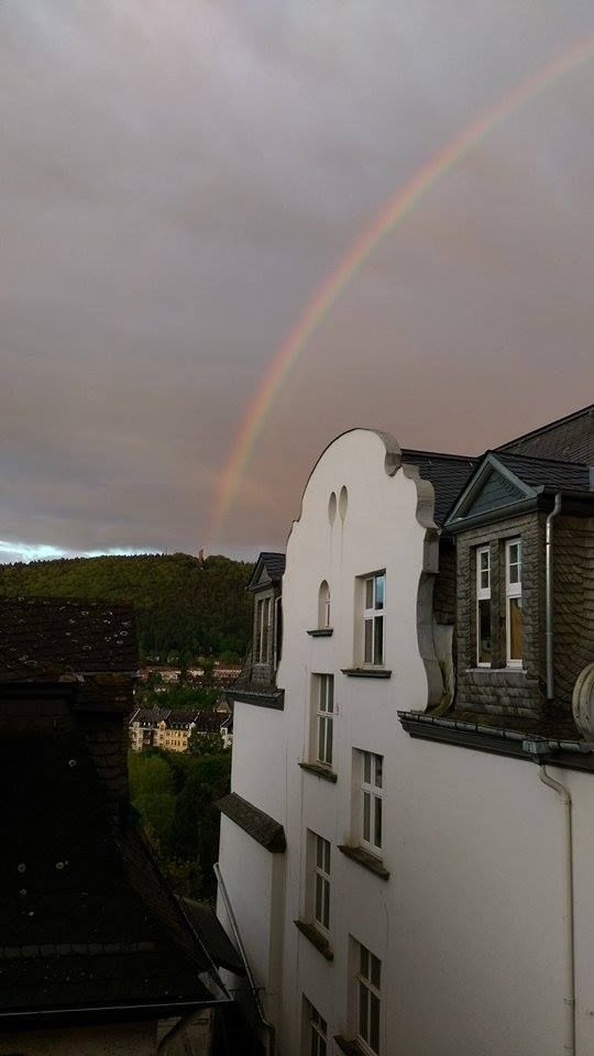 tower send a rainbow