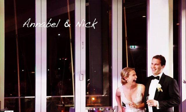 The Wedding of Nick & Annabel Ceremony: St George's Cathedral, Perth Reception: The Royal Freshwater Bay Yacht Club, Perth