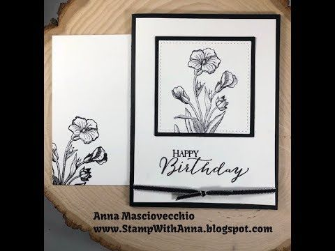 Stamp With Anna, Stampin Up, Butterfly Basics, Decorated Inside, Decorated Envelope, Matching Envelope