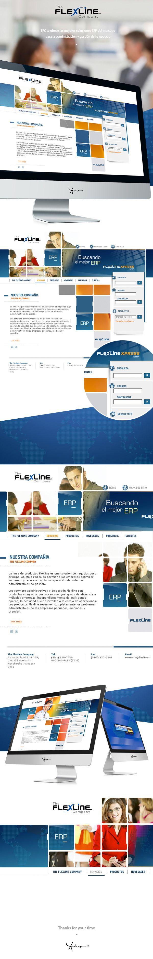 The Flexline Company by Lhuis, via Behance