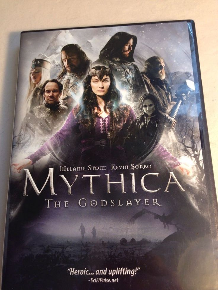 Mythica: The Godslayer (DVD, 2017),Kevin Sorbo,God Slayer Melanie Stone