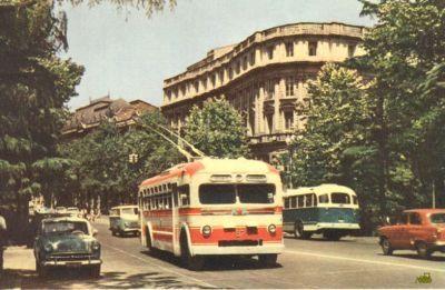 Троллейбусная трасса Симферополь-Алушта-Ялта празднует свое 50-летие