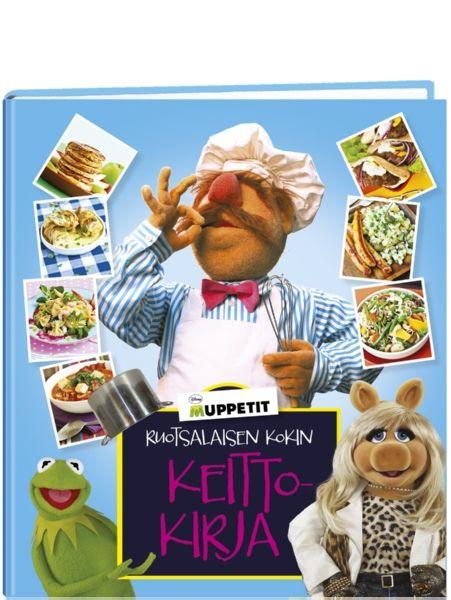 Muppetit: Ruotsalaisen kokin keittokirjassa on repäiseviä reseptejä ja hauskaa herkuttelua!  Ruotsalaisen kokin keittiössä riittää vauhtia ja villejä tilanteita, mutta siellä valmistuu myös maukasta murkinaa koko Muppets-porukan vaateliaisiin vatsoihin – showtyö näet vaatii laadukkaat ja riittoisat eväät. Tästä kahjosta keittokirjasta löydät Kermit-sammakon, Miss Piggyn, Fozzie-karhun ja muiden hupaisten muppetien suosikkireseptit.