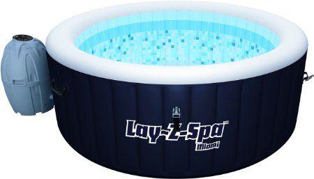 17 meilleures id es propos de jacuzzi gonflable sur pinterest piscine gon - Spa gonflable eau trouble ...