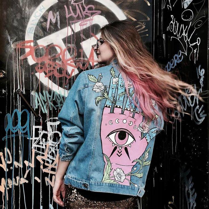 Sobre essa jaqueta perfeita e exclusivona da @lojayoucom em parceria com a @ceuhandmade