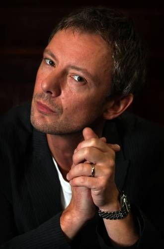 It was always inevitable that John Simm would be in Dr Who - somehow, some way. He's just got that Time Lord-y sort of feel about him - so he was perfect as The Master
