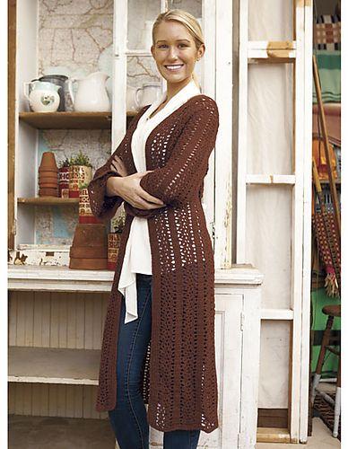 114 best Crochet Coat Inspiration images on Pinterest | Crochet ...