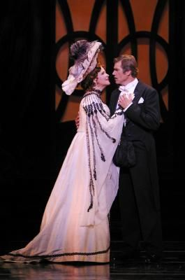susan graham opera singer | Susan Graham as The Merry Widow and Rod Gilfry as Count Danilo. Photo ...