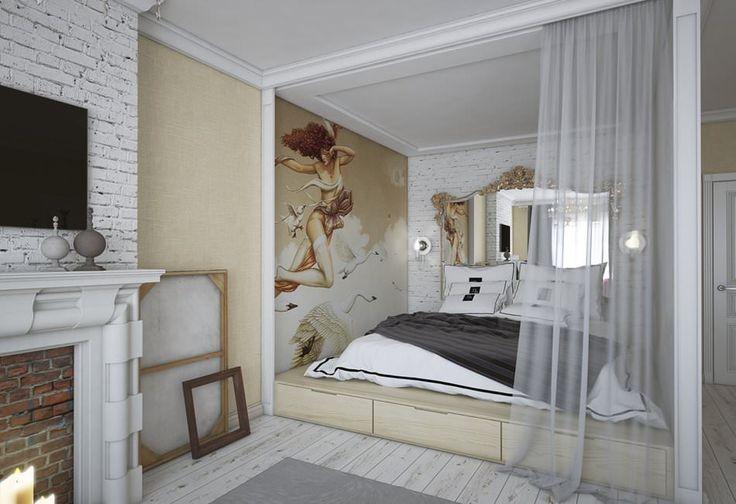 Design apartamentelor de 68 de metri patrati.  m.