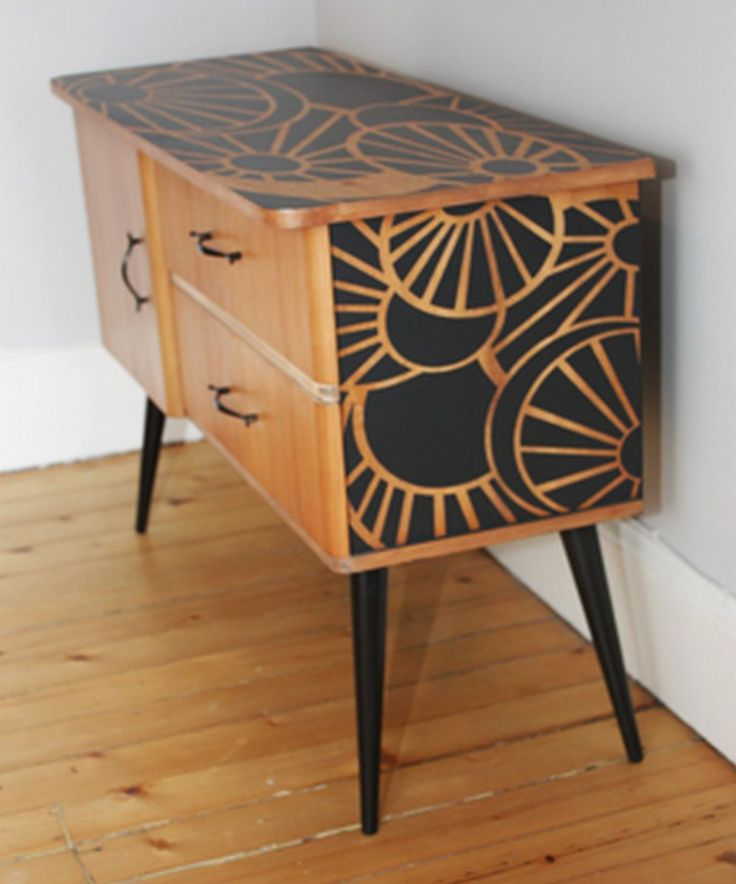 23 best painted teak images on pinterest upcycled for Furniture upcycling
