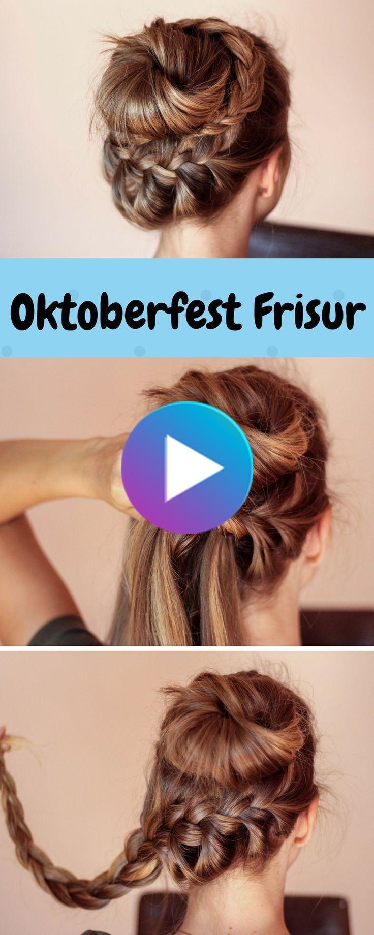 Dirndl-Frisuren fürs Oktoberfest und andere Anlässe  Oktoberfest
