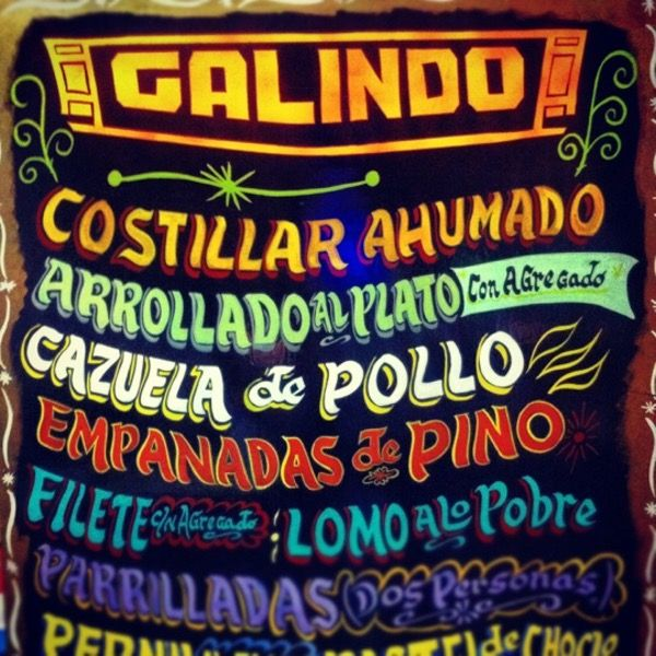 Galindo, South American Restaurant, Providencia