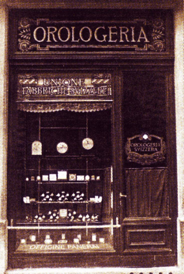 Original Panerai boutique