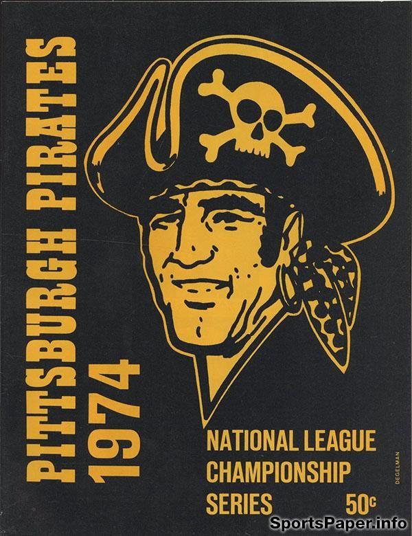 MLB Scorecard / Program: Pittsburgh Pirates (1974)