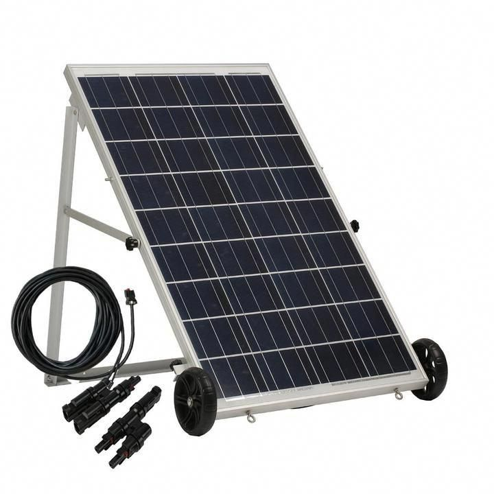 Power Panel With 50 Foot Cable And Mc4 Branch Connector Solar Panels Solar Energy Panels Solar