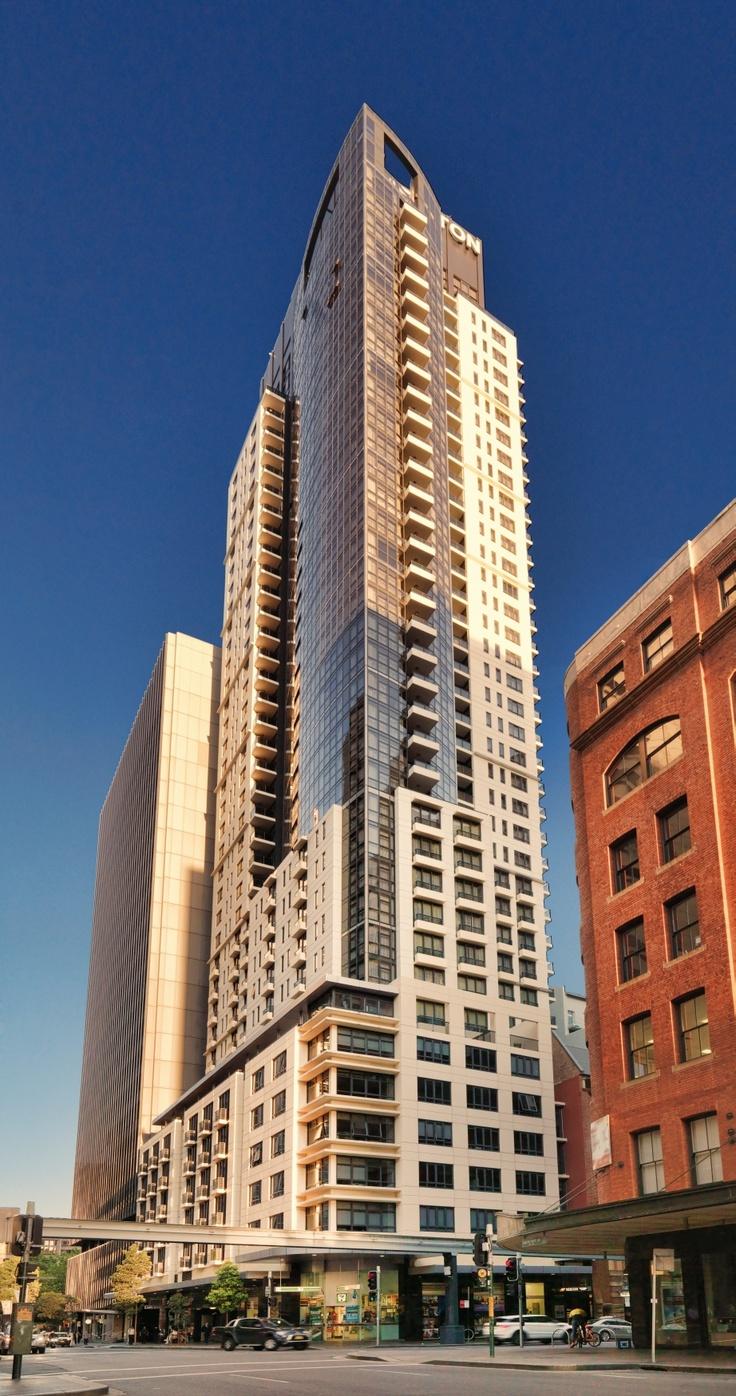 Pitt Street Serviced Apartments Sydney Cbd Skyscraper Apartments Exterior Facade Design