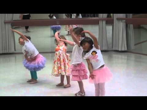 simpele dans voor ballerina feestje
