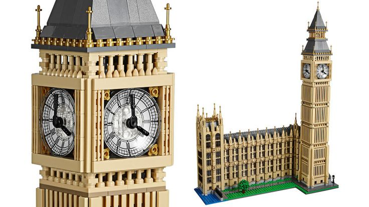 Lego's Architecture series gives adult fans the perfect excuse to keep buying the building toy—because they appreciate the design of the buildings, not because they secretly wanted to build spaceships. And while the new Lego Big Ben isn't officially part of the Architecture line, at 23-inches tall it's still an impressively-detailed recreation.