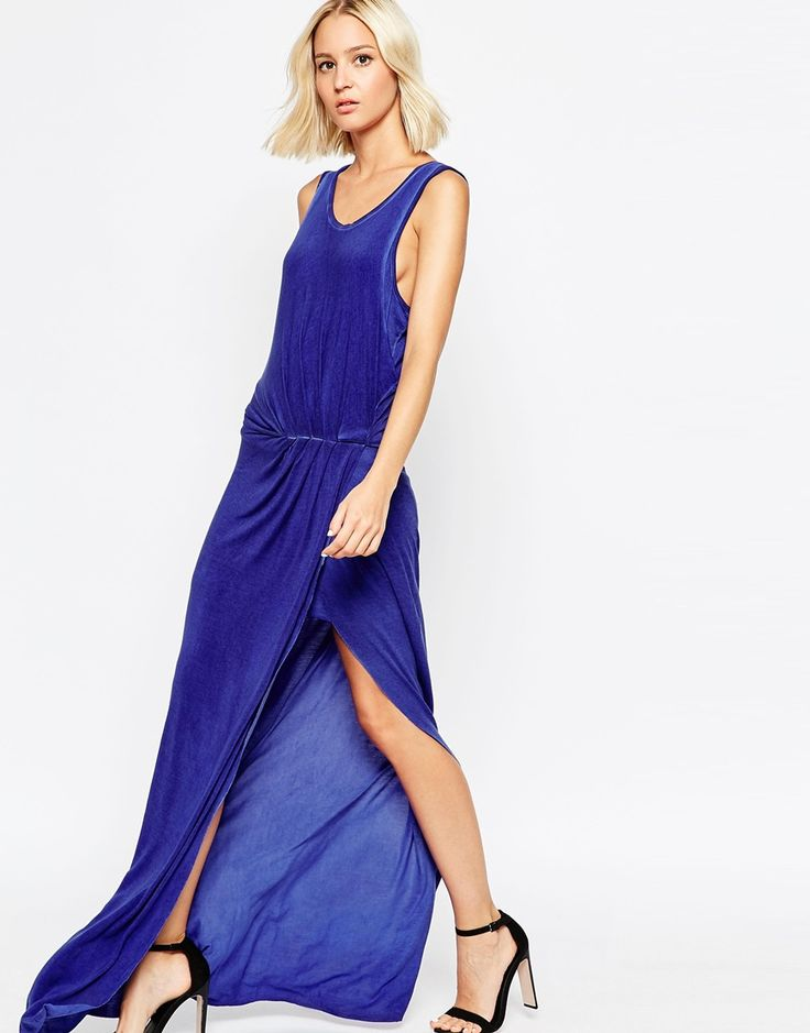 Selected Poise Maxi Dress with Rouching